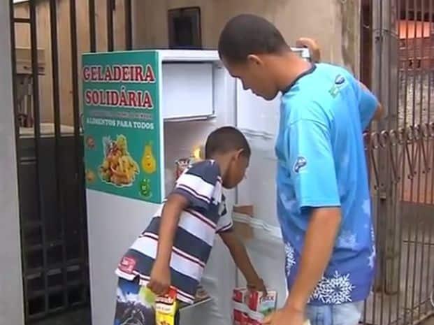 Família de Fabiano é uma das beneficiadas pelo projeto (Foto: Reprodução/TV TEM)