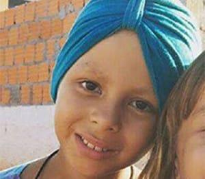 Isabely Vitória de Souza Ribeiro, 8 anos (Foto: Reprodução)