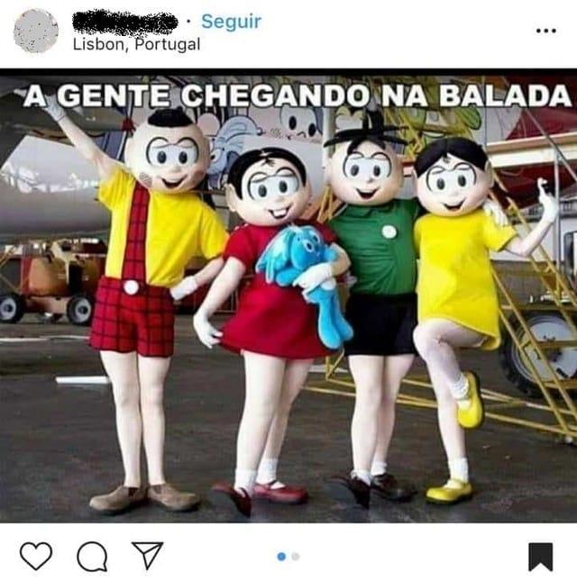 Turma Da Mônica Original Visita Escola Em Mg Após Versão