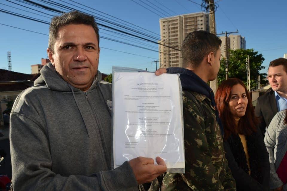 Carlos Antônio dos Santos, 44 anos (Foto: Leonardo Moreno)