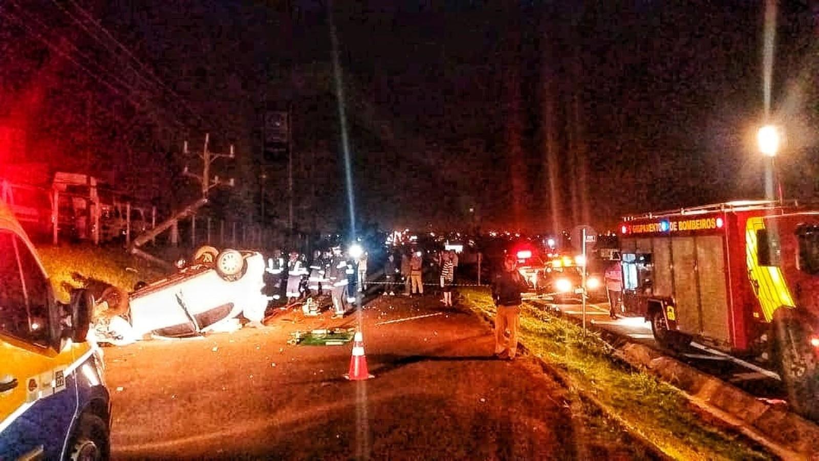 Homem de 42 anos morreu em acidente em Marialva — Foto: Divulgação/PRF