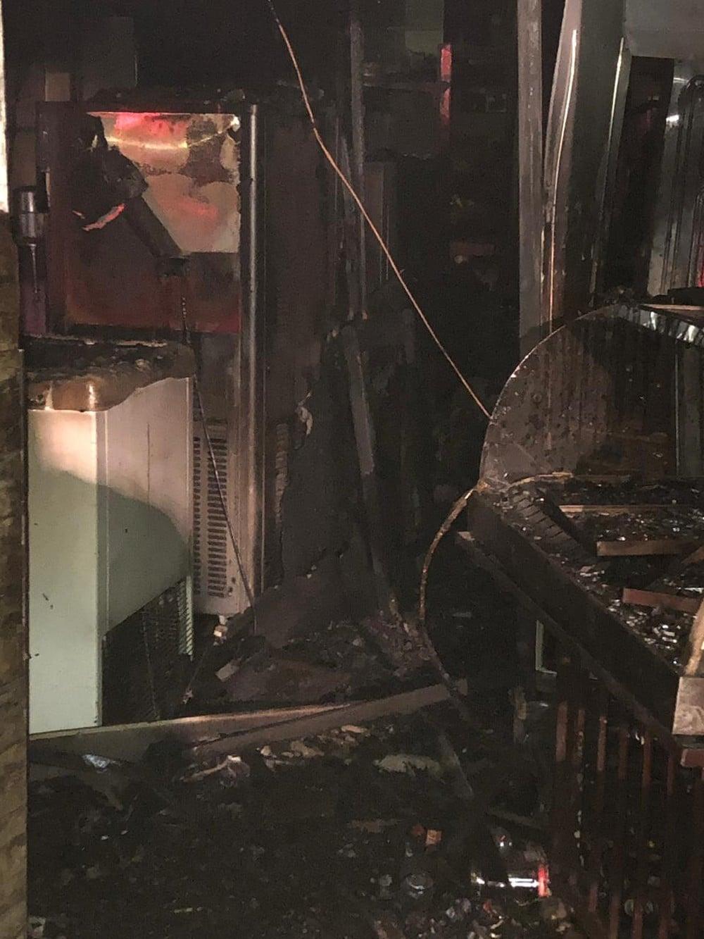 Polícia Civil irá investigar o que teria provocado o incêndio dentro do estabelecimento em Marília. — Foto: Marília Notícia/Divulgação