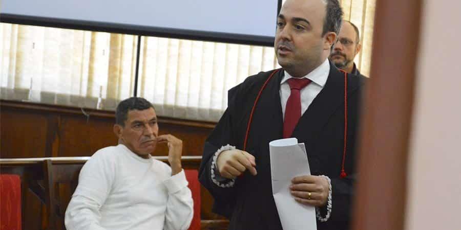 Homem é condenado a 14 anos de prisão por assassinato de esposa em Paraguaçu (Foto: Manoel Moreno)